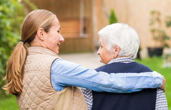 Opiekunka osób starszych.