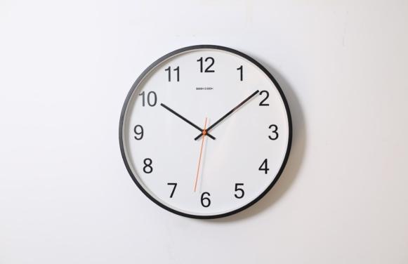 zegar ścienny - określany godziny po niemiecku