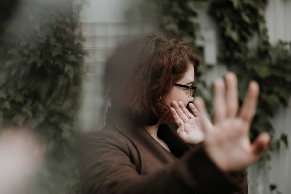 niemiecki dla opiekunek - przeczenie - kobieta odmawia