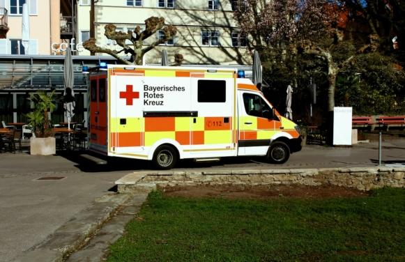 karetka pogotowia - niemiecki dla opiekunek